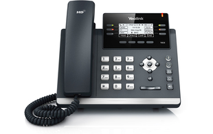 How to access the phonebook on your Yealink T42S, T46S, T48S or Yealink W52P / W56H handset.