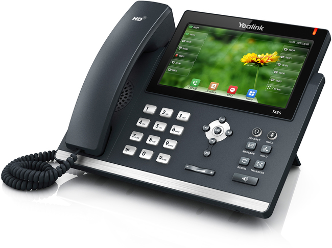 How to access the Yealink phone online interface (GUI)