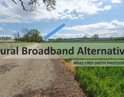 Case study: Nigel Ord-Smith Photography. An alternative to slow broadband