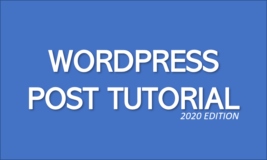 Wordpress_post_tutorial_2020_image