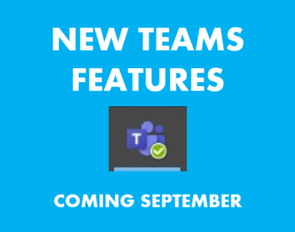 Teams new features